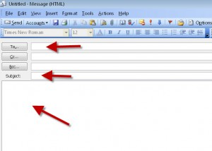 send a proper email