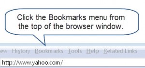 How to Create a Bookmark in Firefox