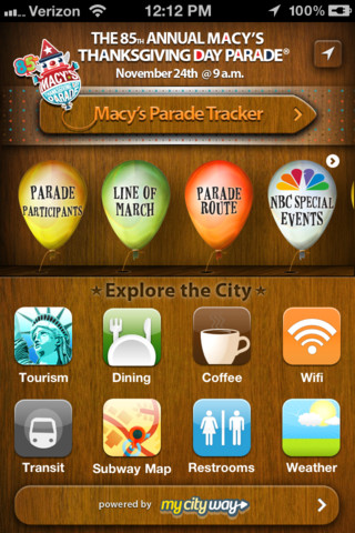 Macys Thanksgiving Parade free app