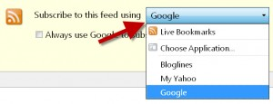 how to subscribe to rss feed