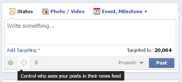 How to Use Facebook Targeted Updates