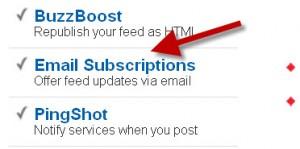 how to backup feedburner subscribers