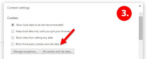 Delete Individual Cookies from Chrome
