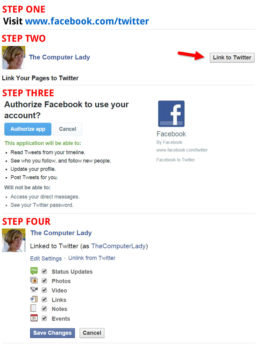 How to Automatically Send Facebook Page Updates to Twitter