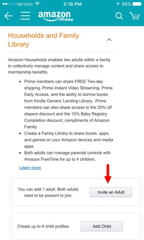How To Add Someone To Your Amazon Prime Account For Free