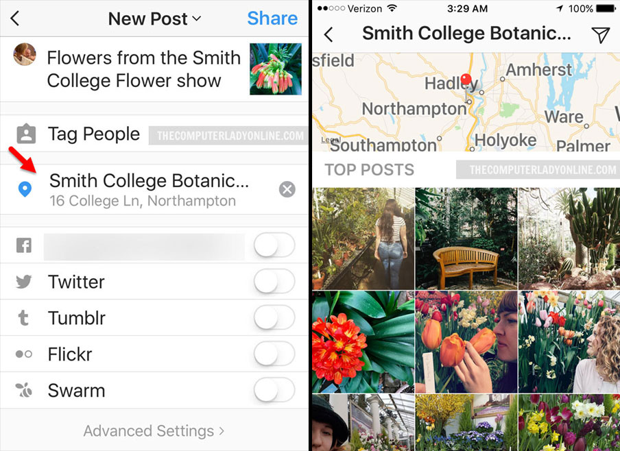 How to Add a Location to a Photo on Instagram
