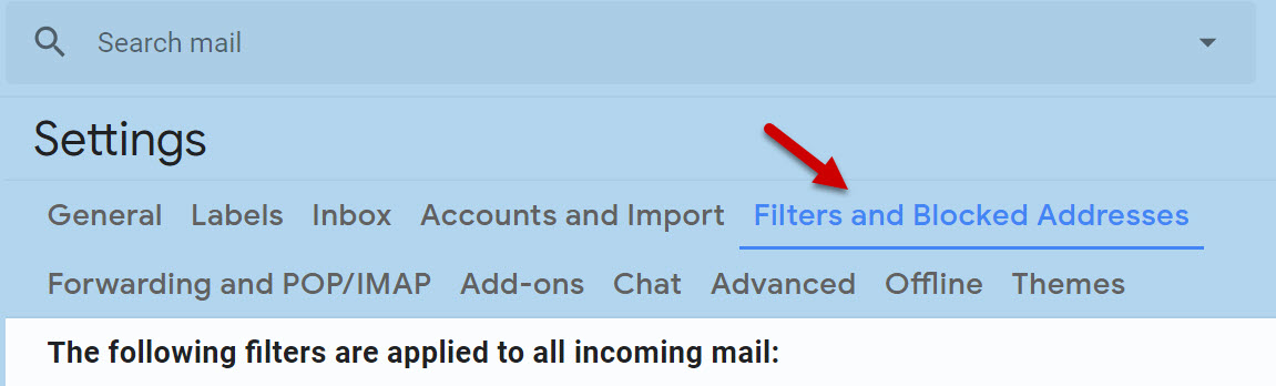 How to Create Filters in Gmail and what are they used for