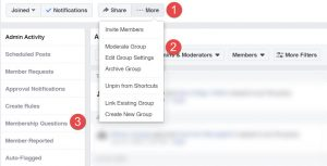 Here's how to setup Membership Questions in a Facebook Group