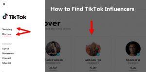 How to Find TikTok Influencers