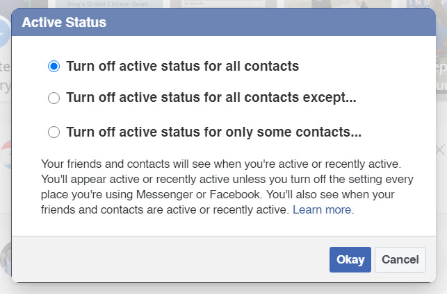 How to Disable Facebook Chat
