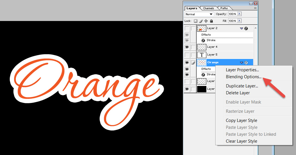 How to Make Die-Cut Sticker White Outline with Photoshop